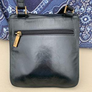 HOBO INTERNATIONAL - Black Leather Crossbody Bag